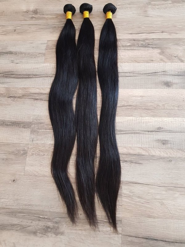 3 Pcs Hair Extension straight 75cm 30inch